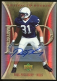 2007 Upper Deck Artifacts Rookie Autographs #190 Paul Posluszny Autograph /25