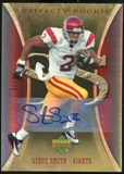 2007 Upper Deck Artifacts Rookie Autographs #195 Steve Smith USC Autograph /25