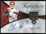 2006 Upper Deck Ultimate Collection Game Jersey Autographs #ULTCF Charlie Frye Autograph /35