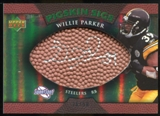 2007 Upper Deck Sweet Spot Pigskin Signatures Green 50 #WP Willie Parker Autograph /50