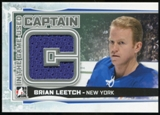 2013-14 In the Game ITG Used Captain C Silver #CC02 Brian Leetch /30