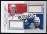2013-14 In the Game ITG Used Classic Scraps Dual Memorabilia Silver #CS12 Bob Probert/Wendel Clark /50
