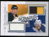 2013-14 In the Game ITG Used Classic Scraps Dual Memorabilia Silver #CS15 Cam Neely/Wendel Clark /50