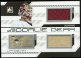 2013-14 In the Game ITG Used Goalie Gear Silver #GG02 Sean Burke /60
