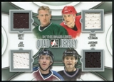 2013-14 In the Game ITG Used Game Used Quad Jerseys Silver #QJ01 Brett Hull/Steve Yzerman/Joe Sakic/Jaromir Ja