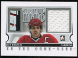 2013-14 In the Game ITG Used Game Used Stick and Memorabilia Silver #GUSM12 Ron Francis /20