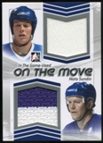 2013-14 In the Game ITG Used On the Move Jerseys Silver #OTM23 Mats Sundin /60