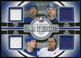 2013-14 In the Game ITG Used Quad Franchise Jerseys Silver #QF09 Wendel Clark/Doug Gilmour/Mats Sundin/Dion Ph