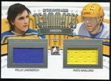 2013-14 In the Game ITG Used Teammates Jerseys Silver #TM28 Pelle Lindbergh/Mats Naslund* /20