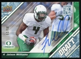2009 Upper Deck Draft Edition Autographs Blue #29 Jaison Williams Autograph /25