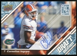 2009 Upper Deck Draft Edition Autographs Blue #34 Cornelius Ingram Autograph /25