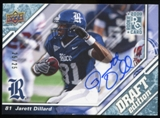 2009 Upper Deck Draft Edition Autographs Blue #40 Jarett Dillard Autograph /25