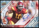 2009 Upper Deck Draft Edition Autographs Blue #61 Brian Cushing Autograph /25