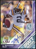 2009 Upper Deck Draft Edition Autographs Blue #87 Demetrius Byrd Autograph /25