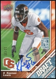 2009 Upper Deck Draft Edition Autographs Blue #90 Keenan Lewis Autograph /25