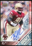 2009 Upper Deck Draft Edition Autographs Blue #93 B.J. Raji Autograph /25
