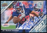 2009 Upper Deck Draft Edition Autographs Blue #127 Rashad Jennings Autograph /25
