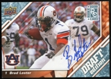 2009 Upper Deck Draft Edition Autographs Blue #131 Brad Lester Autograph /25