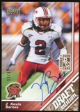 2009 Upper Deck Draft Edition Autographs Copper #25 Kevin Barnes Autograph /50