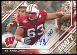 2009 Upper Deck Draft Edition Autographs Copper #41 Kraig Urbik Autograph /50