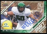 2009 Upper Deck Draft Edition Autographs Copper #47 Max Unger Autograph /50