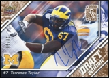 2009 Upper Deck Draft Edition Autographs Copper #52 Terrance Taylor Autograph /50