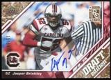 2009 Upper Deck Draft Edition Autographs Copper #60 Jasper Brinkley Autograph /50