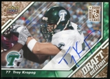 2009 Upper Deck Draft Edition Autographs Copper #68 Troy Kropog Autograph /50