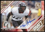 2009 Upper Deck Draft Edition Autographs Copper #75 Mike Mickens Autograph /50