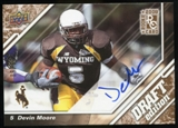 2009 Upper Deck Draft Edition Autographs Copper #79 Devin Moore Autograph /50