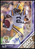 2009 Upper Deck Draft Edition Autographs Copper #87 Demetrius Byrd Autograph /50
