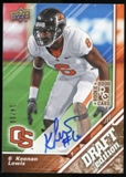 2009 Upper Deck Draft Edition Autographs Copper #90 Keenan Lewis Autograph /50