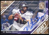 2009 Upper Deck Draft Edition Autographs Copper #91 Nathan Brown Autograph /50