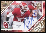 2009 Upper Deck Draft Edition Autographs Copper #99 Nic Harris Autograph /50