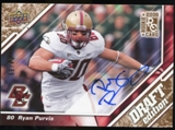 2009 Upper Deck Draft Edition Autographs Copper #100 Ryan Purvis Autograph /50