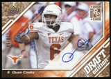 2009 Upper Deck Draft Edition Autographs Copper #120 Quan Cosby Autograph /50