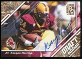 2009 Upper Deck Draft Edition Autographs Copper #132 Keegan Herring Autograph /50