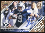 2009 Upper Deck Draft Edition Autographs Copper #137 Austin Collie Autograph /50