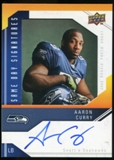 2009 Upper Deck Same Day Signatures #SDAC Aaron Curry Autograph