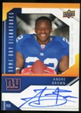 2009 Upper Deck Same Day Signatures #SDAB Andre Brown Autograph