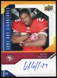 2009 Upper Deck Same Day Signatures #SDGC Glen Coffee Autograph