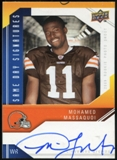 2009 Upper Deck Same Day Signatures #SDMM Mohamed Massaquoi Autograph