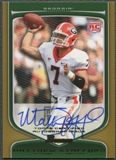 2009 Bowman Draft #111 Matthew Stafford Rookie Gold Auto #04/10