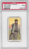 1909-11 T206 Sweet Corporal Nap LaJoie Throwing PSA 2 (GOOD) *7763