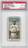 1909-11 T206 Piedmont Rube Marquard Hands At Thighs PSA 4 (VG-EX) *7759