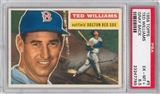 1956 Topps Baseball #5 Ted Williams Gray Back PSA 6.5 (EX-MT+) *7789