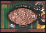 2007 Upper Deck Sweet Spot Pigskin Signatures Green 75 #WP Willie Parker Autograph /75