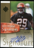 2007 Upper Deck Ultimate Collection Ultimate Signatures #USLH Leon Hall SP Autograph