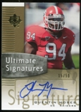 2007 Upper Deck Ultimate Collection Ultimate Signatures #USQM Quentin Moses Autograph