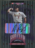 2002 Donruss #220 Albert Pujols Fan Club Auto /200